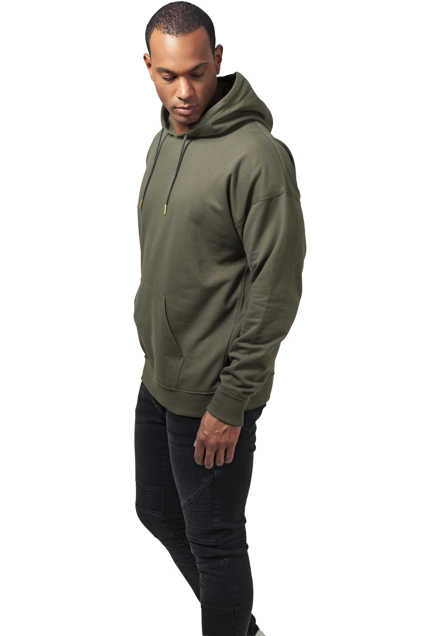charly lownoise hoodie olive side